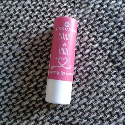 essence coast 'n' chill caring lip balm, Farbe: 01 fresh-kissed by a rose (LE)