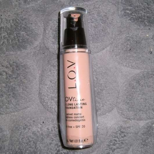 L.O.V LOVtime 18h Long Lasting Foundation, Farbe: 060 Golden Hour
