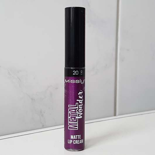Misslyn Metal Wonder Matte Lip Cream, Farbe: 20 dark fairy (LE)