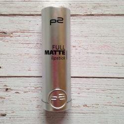 Produktbild zu p2 cosmetics full matte lipstick – Farbe 050 require more