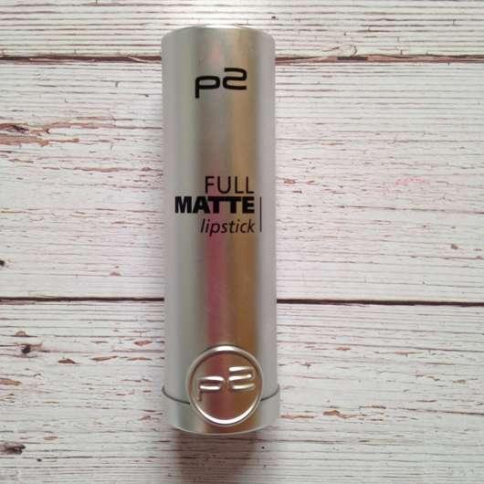 p2 full matte lipstick, Farbe 050 require more
