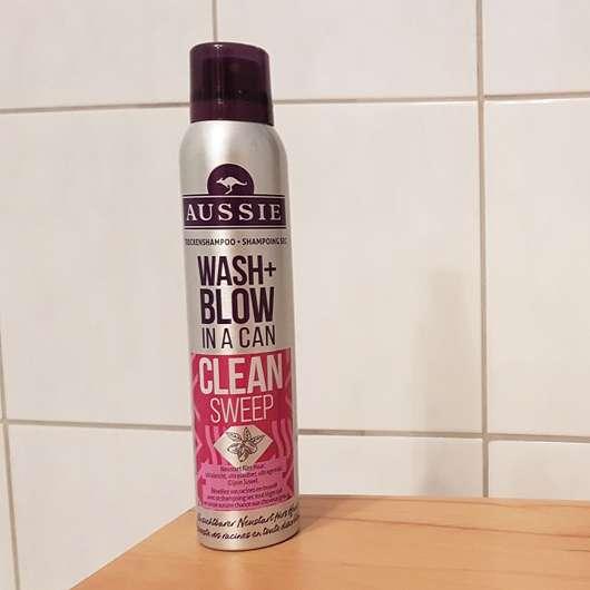 test trockenshampoo aussie wash blow trockenshampoo clean sweep testbericht von jagutta. Black Bedroom Furniture Sets. Home Design Ideas