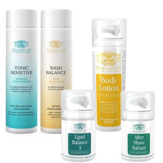 DERMAPLAN Hautpflege OHNE allergene Inhaltsstoffe. Jetzt gewinnen!
