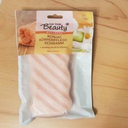 Produktbild zu for your Beauty Wellness Konjac-Körperpflegeschwamm (Japanische Kirschblüte)
