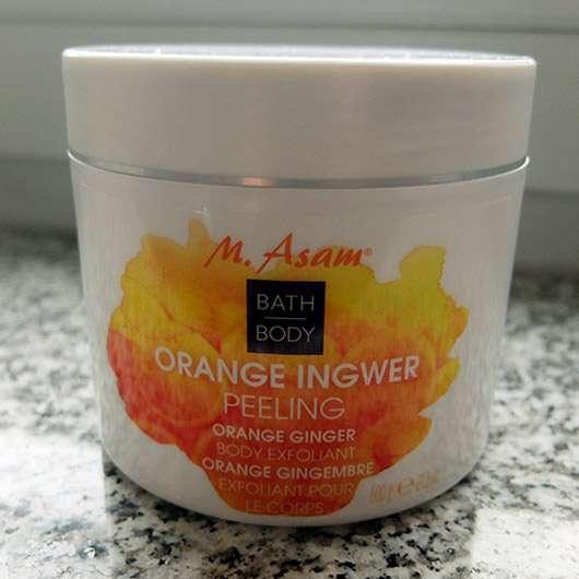 M. Asam Orange Ingwer Peeling - Tiegel