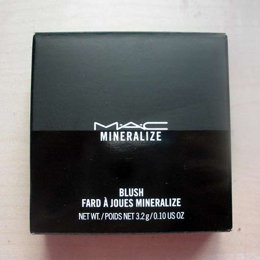 M·A·C Mineralize Blush, Farbe: Warm Soul - Verpackung