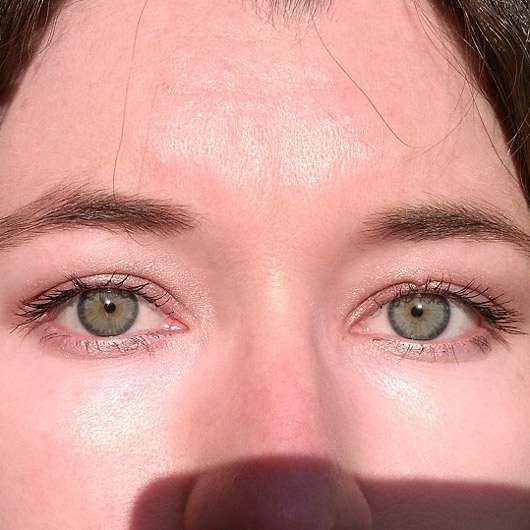 Misslyn Eyeshadow, Farbe: 39 flirty copper (LE) - auf den Augen