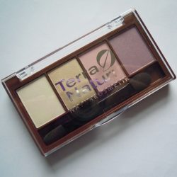 Produktbild zu Terra Naturi Naturkosmetik Quattro Eyeshadow – Farbe: 04 Ice Cream