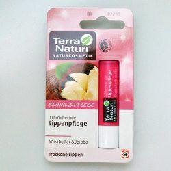 Produktbild zu Terra Naturi Naturkosmetik Schimmernde Lippenpflege Sheabutter & Jojoba