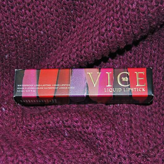 <strong>Urban Decay</strong> VICE LIQUID LIPSTICK - Farbe: Rock Steady (Comfort Matte Finish)