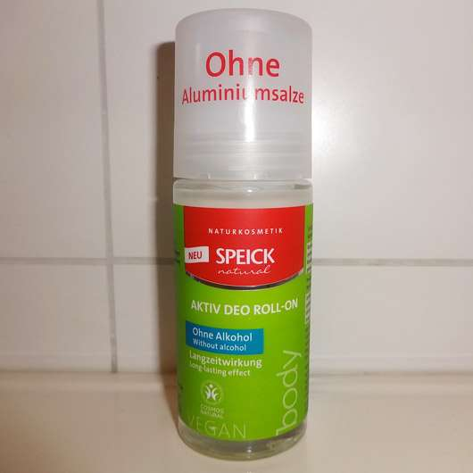 Speick Natural Aktiv Deo Roll-On (ohne Alkohol) - Flasche