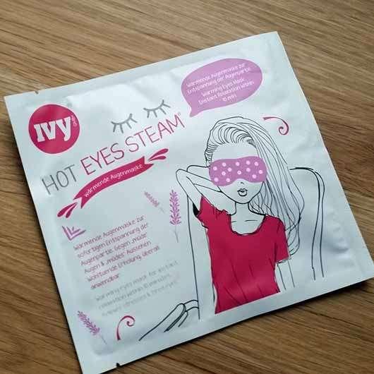 IVY Hot Eyes Steam – Wärmende Augenmaske