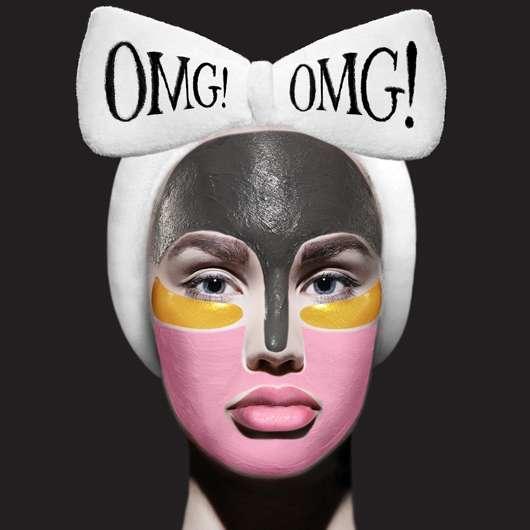 Gesichtsmasken der US-Beautymarke OMG!