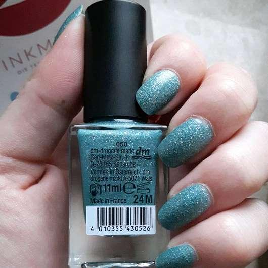 trend IT UP Prisma Tip Nail Polish, Farbe: 050 - Rückseite Flasche und Lack auf den Nägeln