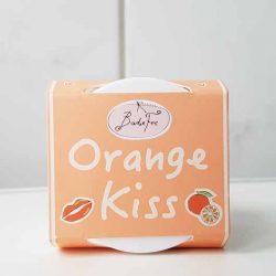 Produktbild zu BadeFee Lippenpeeling Orange Kiss