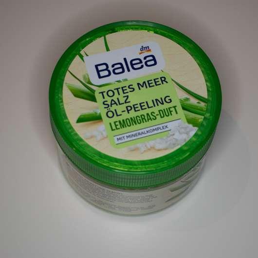 test k rperpeeling balea totes meer salz l peeling lemongras duft testbericht von lollililly. Black Bedroom Furniture Sets. Home Design Ideas