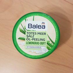 Produktbild zu Balea Totes Meer Salz Öl-Peeling Lemongras-Duft