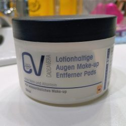 Produktbild zu CV CadeaVera Face 25+ Lotionhaltige Auge Make-up Entferner Pads (Ölfrei)