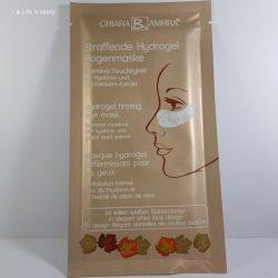 Produktbild zu CHIARA AMBRA Straffende Hydrogel Augenmaske