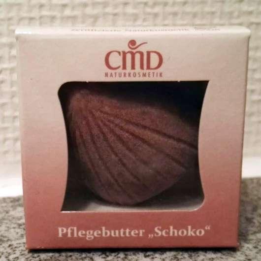 CMD Pflegebutter Schoko Mini (Muschel) - Verpackung