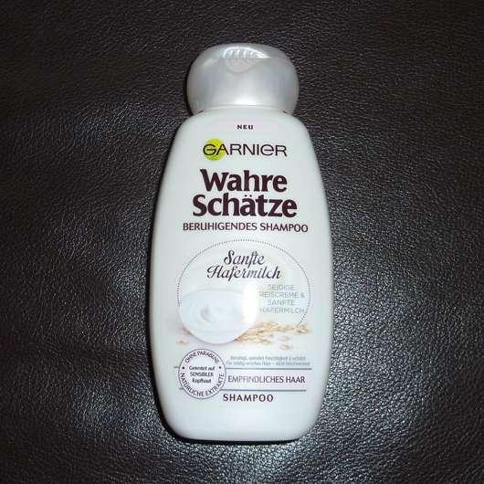test shampoo garnier wahre sch tze beruhigendes shampoo sanfte hafermilch testbericht von. Black Bedroom Furniture Sets. Home Design Ideas