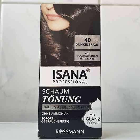 <strong>ISANA PROFESSIONAL</strong> Schaumtönung - Farbe: 40 Dunkelbraun