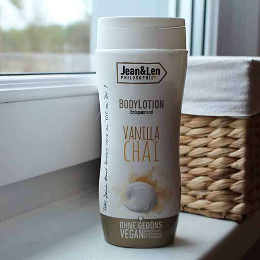 Jean&Len Bodylotion Vanilla Chai