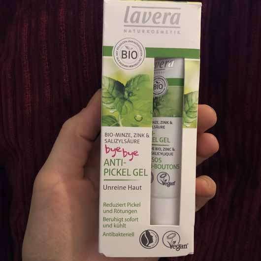 lavera Anti-Pickel Gel Bio-Minze, Zink & Salizylsäure