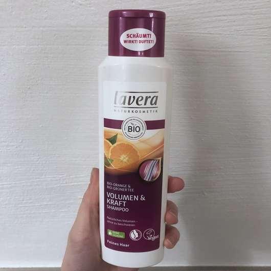 <strong>lavera Naturkosmetik</strong> Volumen & Kraft Shampoo Bio-Orange & Bio-Grüner Tee
