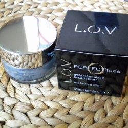 Produktbild zu L.O.V PERFECTitude Overnight Mask Metallic Silver