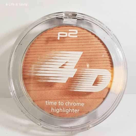 p2 4D time to chrome highlighter, Farbe: 010 beaming lightness (LE)