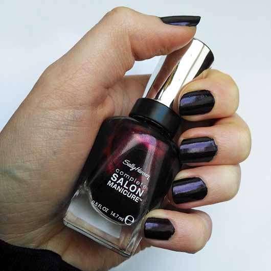 Sally Hansen Complete Salon Manicure Nagellack, Farbe: 641 Belle of the Ball - Farbe auf den Nägeln