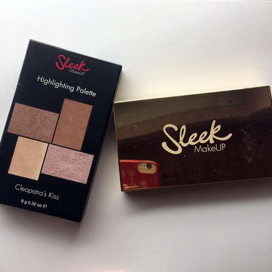 Sleek MakeUp Highlighting Palette, Farbe: 33 Cleopatra's Kiss