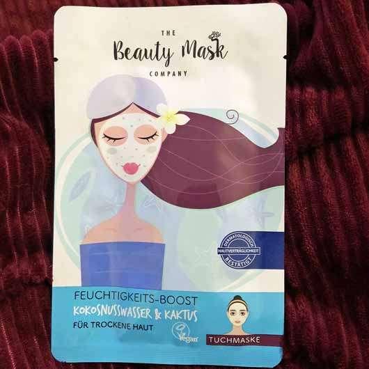 The Beauty Mask Company Feuchtigkeits-Boost Tuchmaske