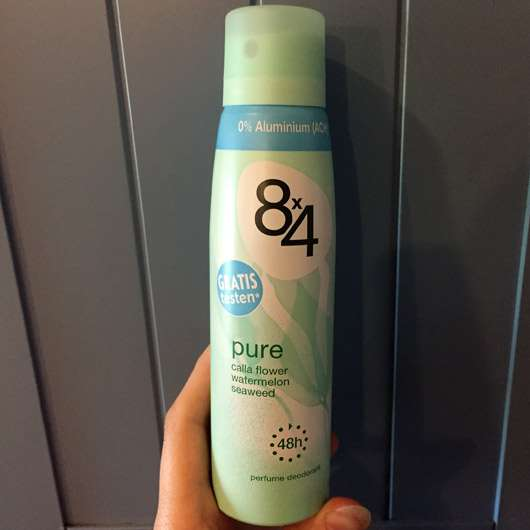 <strong>8×4</strong> Pure Deodorant Spray