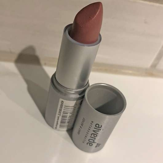 alverde Color & Care Lipstick, Farbe: 03 Rosy Nude