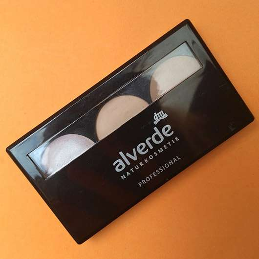 alverde Professional Contouring Kit , Farbe: 01 Light - Verpackung