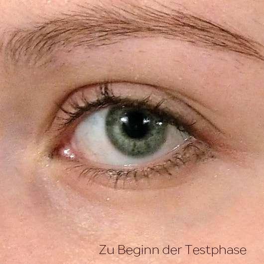 BIO:VÉGANE Bio Cranberry Augenpflege - Hautbild vor der Testphase