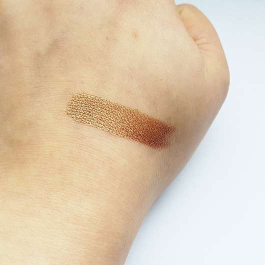 Swatch ohne Base - Rival de Loop Young Crystal Pigments, Farbe: 02 desert island