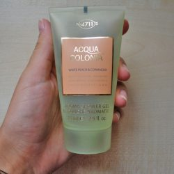 Produktbild zu 4711 Acqua Colonia White Peach & Coriander Aroma Shower Gel