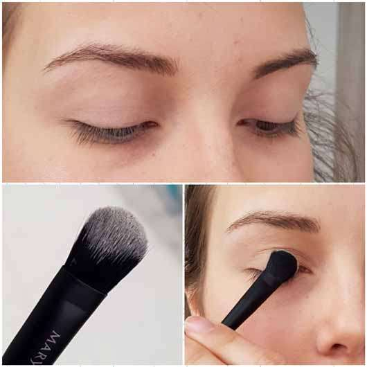 Mary Kay Essential Brush Collection - Anwendung am Auge