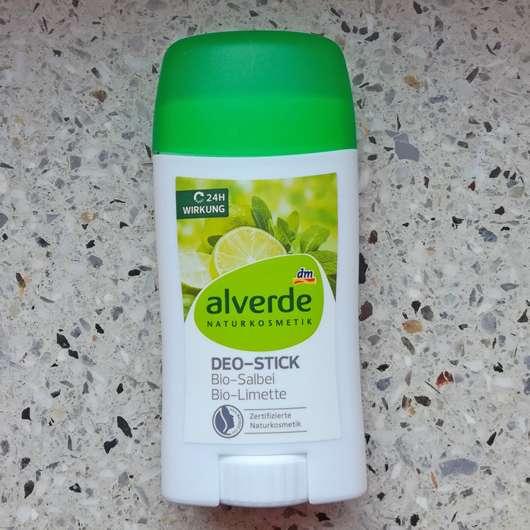 alverde Deo-Stick Bio-Salbei Bio-Limette