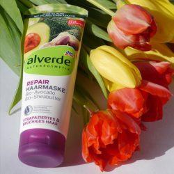 Produktbild zu alverde Naturkosmetik Repair Haarmaske Bio-Avocado Bio-Sheabutter