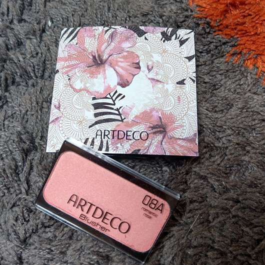 ARTDECO Blusher inkl. Beauty Box, Farbe: 08A romantic rose (LE) - Box