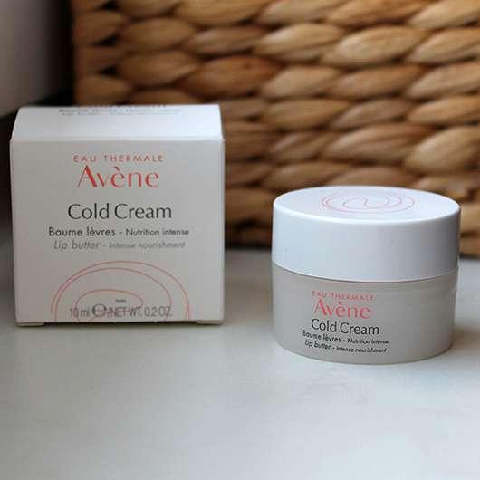 Avène Cold Cream Lippenbalsam im Tiegel - Verpackung
