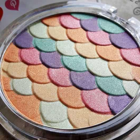 essence glow like a mermaid highlighter, Farbe: 10 forever mermaid - Verpackung geöffnet