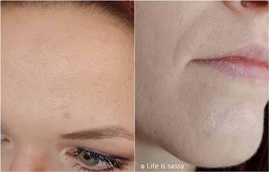 essence you better work! gym-proof primer - Gesicht Details