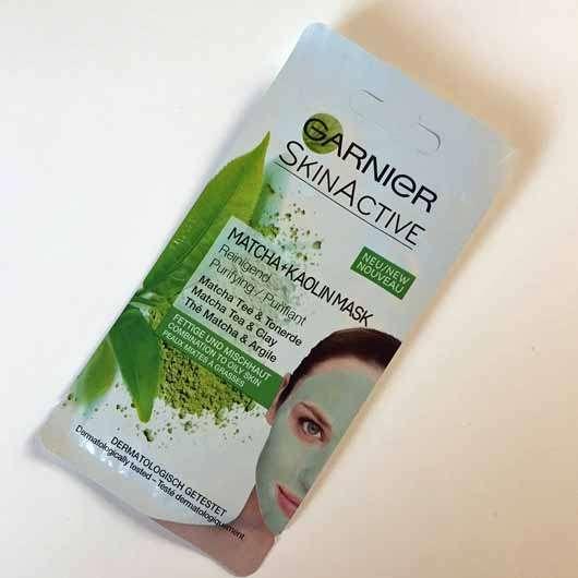 Ganier SkinActive Matcha + Kaolin Mask