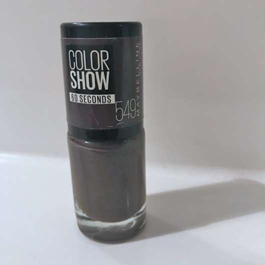 Maybelline Colorshow Nagellack, Farbe: 549 Midnight Taupe