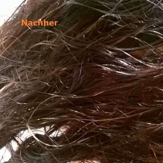 Minus 417 Catharsis Rejuvenation Hair Mud Mask - Haare nach der Anwendung